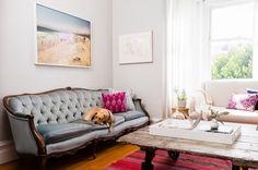 Lauren Nelson Design love the light-light-grey walls and rug