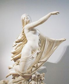 The Sleep of Sorrow and the Dream of Joy  Raffaelle Monti (1818-1881) carved this allegorical figure group in 1861.  The Victoria and Albert Museum