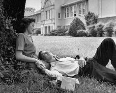Whitehaven High School romance. 1947.