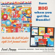 Awesome Summer - Heat Wave Fun Bundle by Jady Day Studio