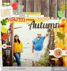 I love Warm Colors of Autumn by celine navarro at Studio Calico
