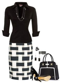 Office Wear – 138 A fashion look from December 2015 by anastasiabeaverhausenxo featuring Pinup Couture, Giambattista Valli, Ted Baker, River Island and David Yurman Business Mode, Business Attire, Business Fashion, Business Chic, Business Outfits, Mode Outfits, Casual Outfits, Fashion Outfits, Womens Fashion