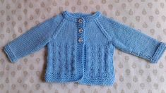 This design works well for boys and girls …… and is just right for a newborn baby.