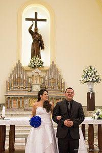 Cerimônia de casamento Paróquia São Francisco de Assis - Daniel e Mariana