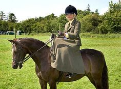 Charlotte Hatton on 'Charlie Fox' in the Side-Saddle Event at Killusty Show.