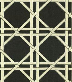 for DIY Settee:Upholstery Fabric-Waverly In The Garden Garden Lattice Onyx: upholstery fabric: home decor fabric: fabric: Shop | Joann.com