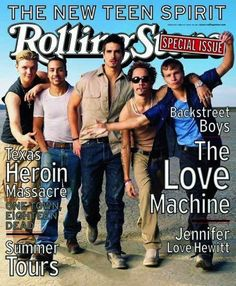 "The Backstreet Boys were ""the new teen spirit."" 