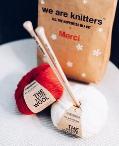 80c311d70ba Merci x We Are Knitters  the perfect wool and christmas colab!  presents