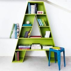 Monogram bookshelf-- I am doing this for Banana once she is potty trained