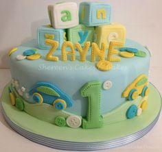 baby boy birthday cake - Google Search