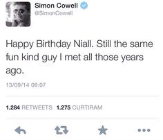 UNCLE SIMON I LOVE YOU SO MUCH!!! You are the bestest. Happy Birthday Nialler!!
