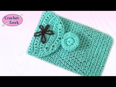 Crochet Tablet Cover 7 inch Crochet Geek  Easily adjusted for larger or smaller devices.