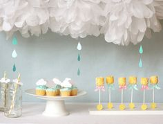ZeRussian Party Theme: Cloud themed party