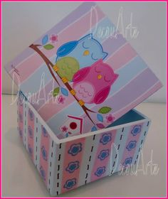 Box door all DecouArte. Paper stamps & Cia.