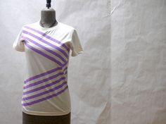 Lavender Ribbon T-Shirt by jessalinb on Etsy