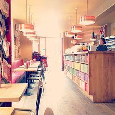 Laundromat Cafe in København N, Region Hovedstaden