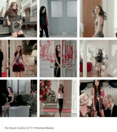 Eleanor s1 outfits