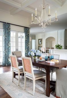 Austin, Texas home by Heather Scott Home & Design | Olso Chandelier by E.F. Chapman | Available at circalighting.com