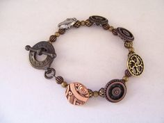 Steampunk Cogs and Wheels Bracelet