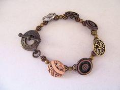Steampunk Cogs and Wheels Bracelet