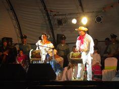 Reinado de Colonias en Mitú. #Mitú, #Vaupés #Colombia Fairs and Festivals Pageant Integration of National Colonies.