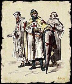 """""""La Orden Templaria estaba encabezada por un gran maestre (con rango de príncipe), por debajo del cual existían tres rangos: caballeros, capellanes y sargentos."""""""