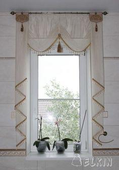 Modern Home Curtain Design Ideas 02 Bed Drapes, Home Curtains, Kitchen Curtains, Valance Curtains, Window Coverings, Window Treatments, Rideaux Design, Custom Drapes, Curtain Designs