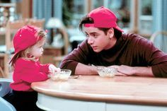 Michelle and Uncle Jessie <3