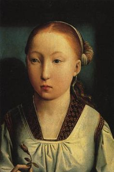 Katherine of Aragon at age 11. Wife to Prince Arthur and then Henry VIII.