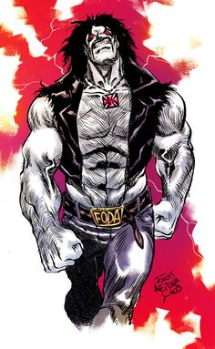 lobo comic art | LOBO by ~AZEITONA on deviantART