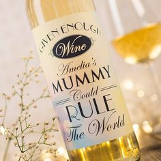 Personalised Wine - Rule The World | GettingPersonal.co.uk