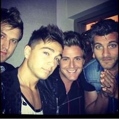 Anthem lights^^ Joey left middle