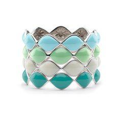 Elizabeth Showers Simone Eternity Bracelet found on Polyvore