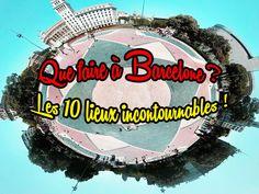 Que faire à #Barcelone ? Les 10 lieux incontournables de la capitale #catalane ! Barcelona, Fair Grounds, Travelling, Places, Barcelona Spain