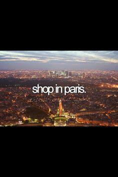 Shop in Paris!