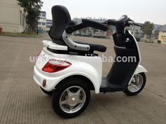 Source UGBEST Tres EEC milky three wheel electrical scooter for handicapped on m.alibaba.com