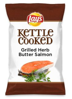I love grilled Salmon, Salmon croquettes and smoked Salmon! Hey, what's not to like, it's loaded with Omega 3! Wouldn't Grilled Herb Butter Salmon be yummy as a chip? Lay's Do Us A Flavor is back, and the search is on for the yummiest flavor idea. Create a flavor, choose a chip and you could win $1 million! https://www.dousaflavor.com See Rules.