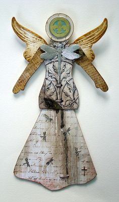 Pamela Chiasson - Mixed Media Artist. This totally looks like something I would create