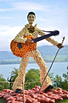 Elvis made of pumpkins Fall Images, Burning Love, Stud Muffin, Fall Pumpkins, Elvis Presley, First Night, Making Out, Rock N Roll, Halloween