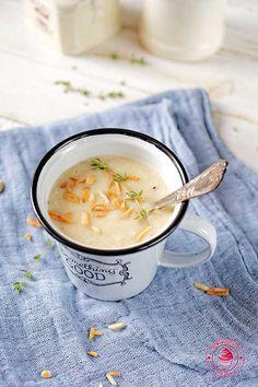 parsley cream soup - zupa krem z pietruszki Cream Soup, Parsley, Cheeseburger Chowder, Cooking, Food, Dinner Ideas, Pictures, Kitchen, Photos