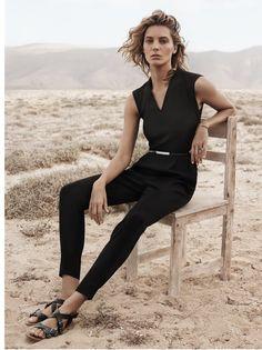 Daria Werbowy for Mango's Spring 2014 Ads