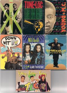 I have all of these! Some on cd and some on cassette.  Now Im gonna have to put them on my ipod!!