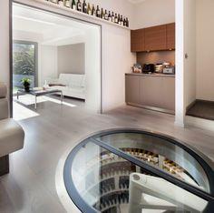 weinlagerung weinkeller geschwungene spiraltreppe | root cellar ... - Weinkeller Bauen Modern Gestalten