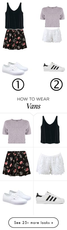 """""""1 or 2?"""" by eemaj on Polyvore featuring Abercrombie & Fitch, MANGO, Vans, Monrow, Alexis, adidas, women's clothing, women's fashion, women and female"""