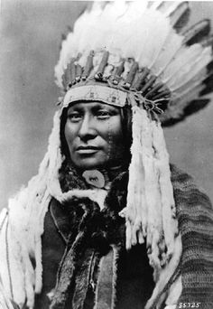"""Lakota Sioux Indian """"Rain in the Face"""" believed to have killed George Custer."""
