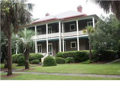 Renovated Officer's quarters c1864  1760 Ion  Sullivans Island SC