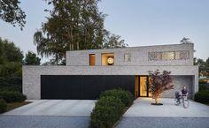 Maison unifamiliale moderne à Sint-Katelijne-Waver - Agora Gris Agate - ORT-architecten, Wouter Vanderper, Antwerpen