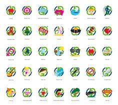 Dimitris Klonos Art Directory: Redesigning Giaola logo for special days