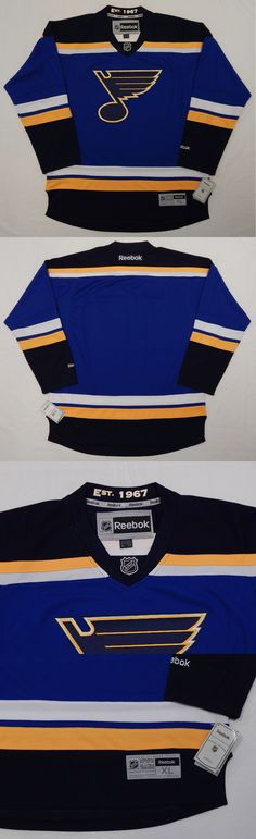 Hockey-Team Canada 2868: Reebok Premier St Louis Blues Nhl Official Jersey Adult Xl New  Tags   Est 1967 -> BUY IT NOW ONLY: $76.49 on eBay!