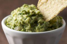 low-fat guacamole